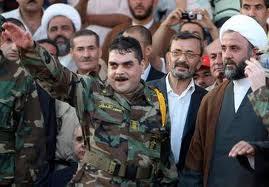 Samir al-Kuntar faisant le salut nazi