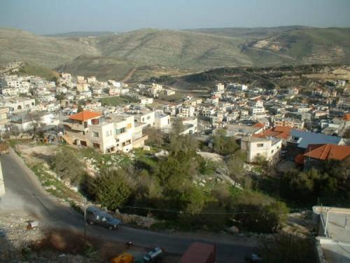 Village arabe Majdal Shams en Israël