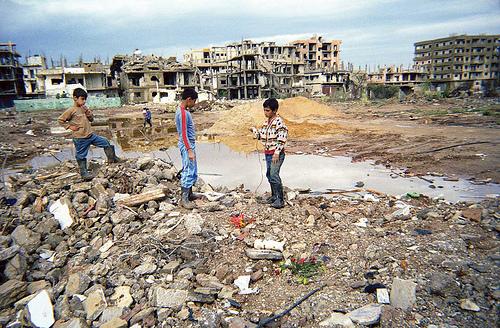 Nahr el-Bared refugee camp in Tripoli (North Lebanon