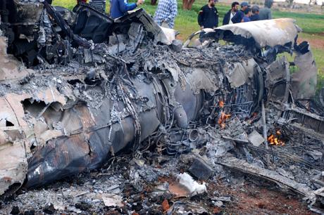Avion abattu au dessus de Benghazi