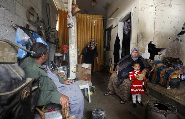 Palestiniens l'hiver dernier