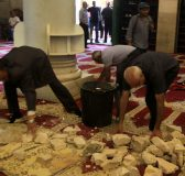 Palestine-Palestinians-collect-stones-inside-Al-Qibli-mosque-in-Al-Aqsa-Mosque-compound-after-Israeli-forces-attack-28-9-15-pho-Mahfouz-Abu-Turk-AA