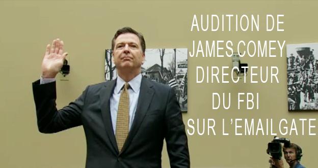 Audition de James Comey ©Dreuz info