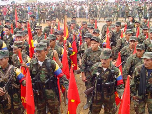 Terroristes communistes des FARC