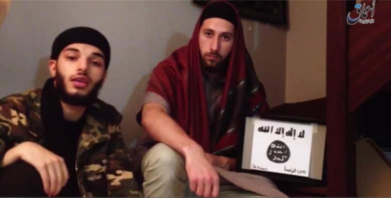 Petitjean et Kermiche prêtant allégeance à ISIS