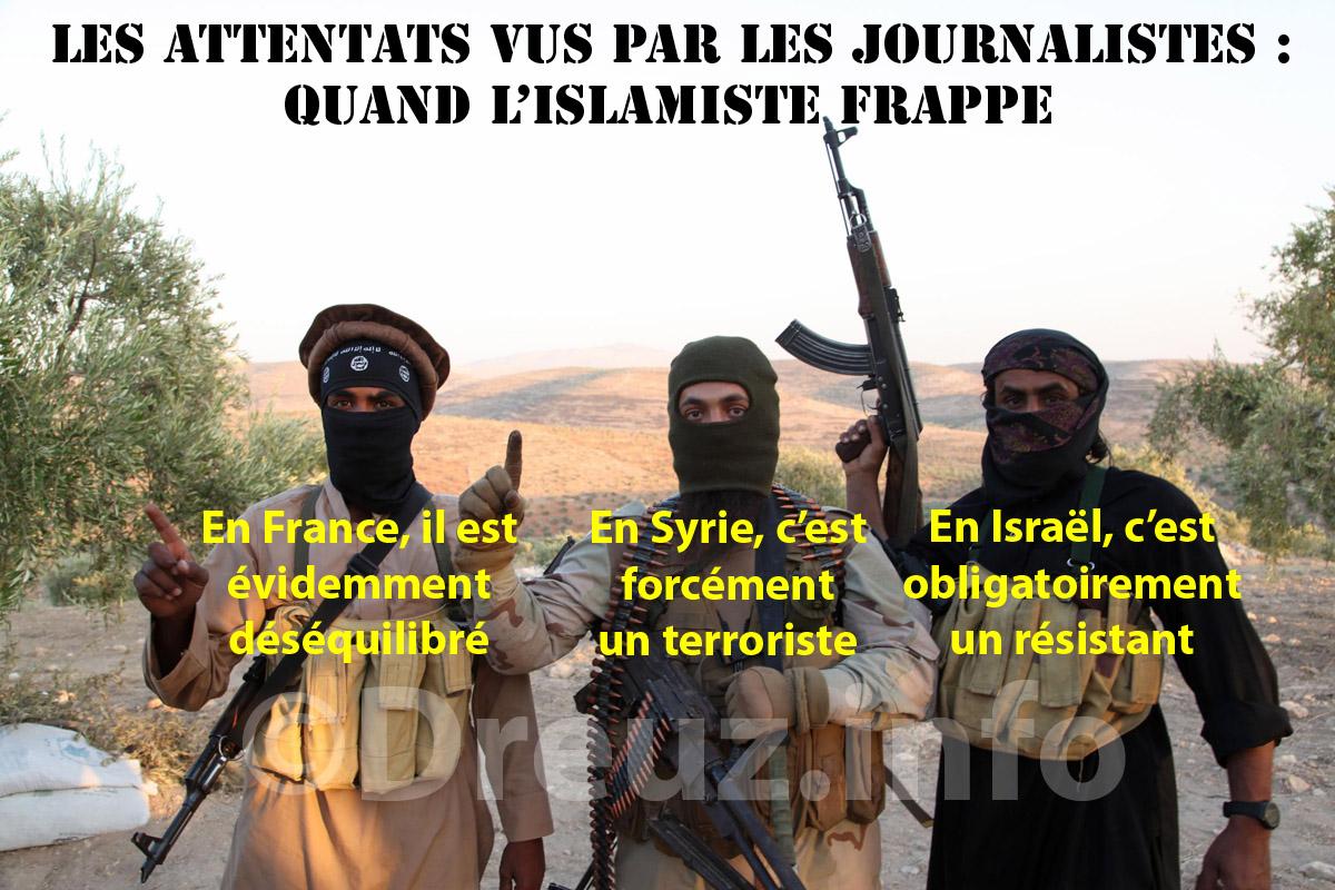 Les islamistes selon les journalistes