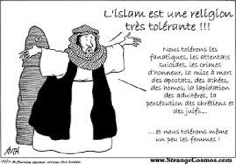 l'islam est une religion tolérante