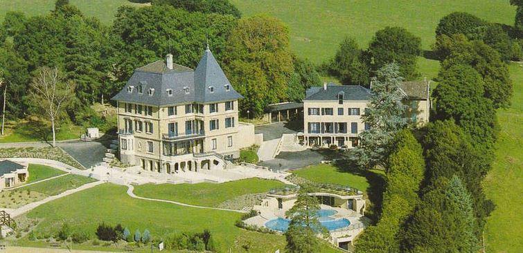 Chateau où seront hébergés une centaine de migrants venant de la jungle de Calais