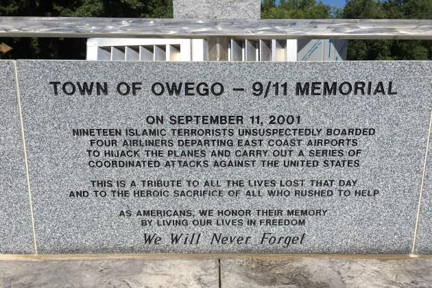 Mémorial d'Owego, New York