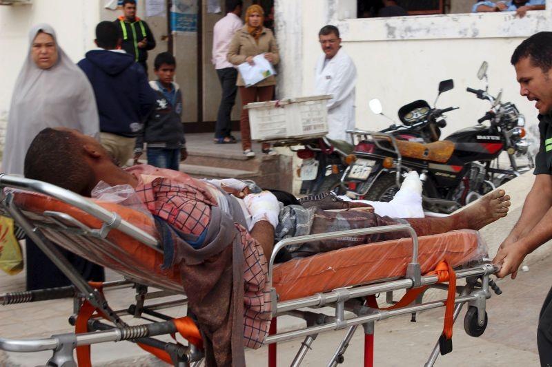 Migrant soudanais blessé par les forces de sécurité égyptiennes