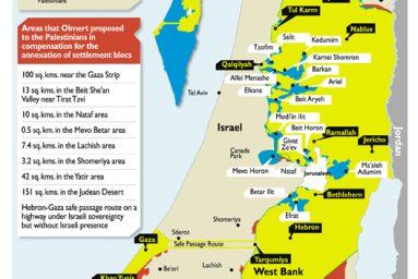 Plan de partage d'Olmert refusé par Abbas