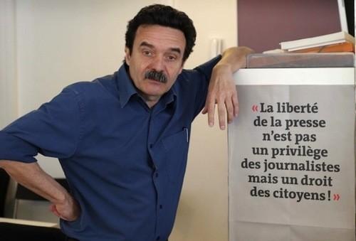 edwy Plenel : Liberté de la presse pour mon camp, interdiction pour l'autre