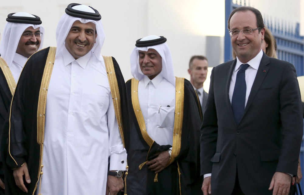hollande-au-qatar