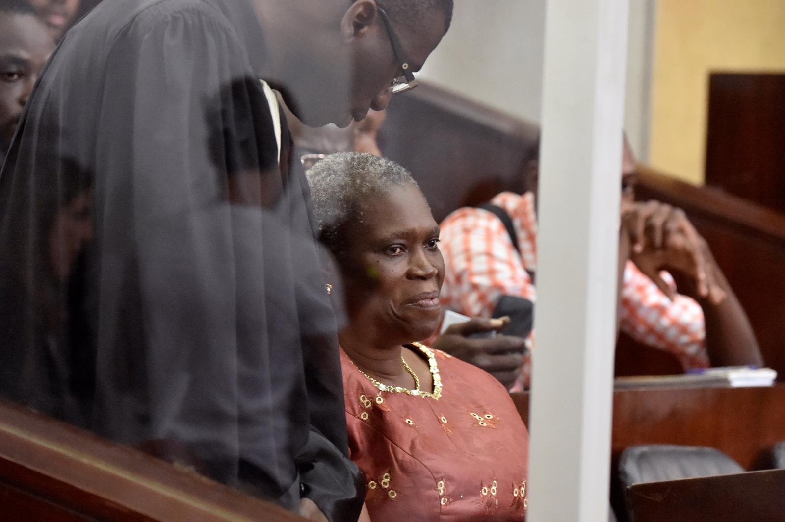 Simone Gbagbo devant la CPI
