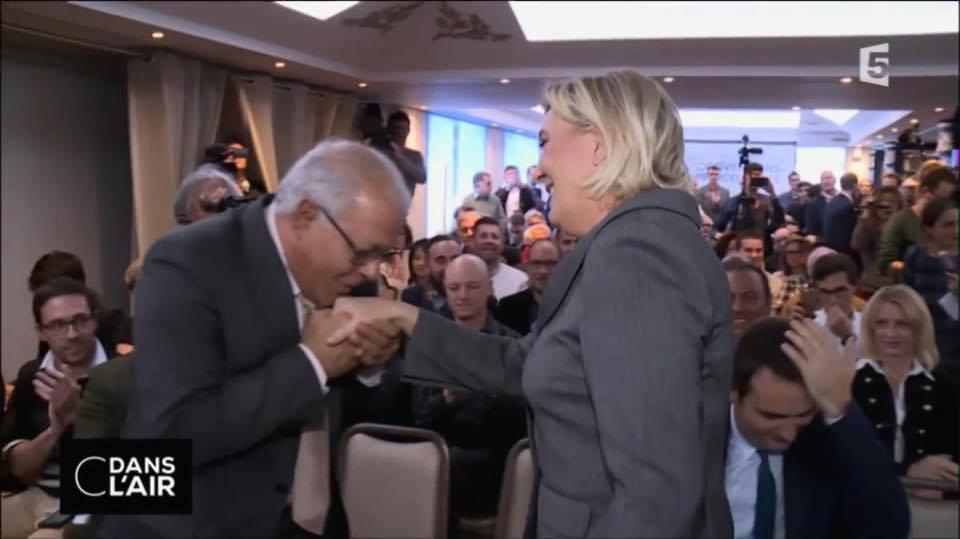 Mezri Haddad, invité par Marine Le Pen, est un islamiste.