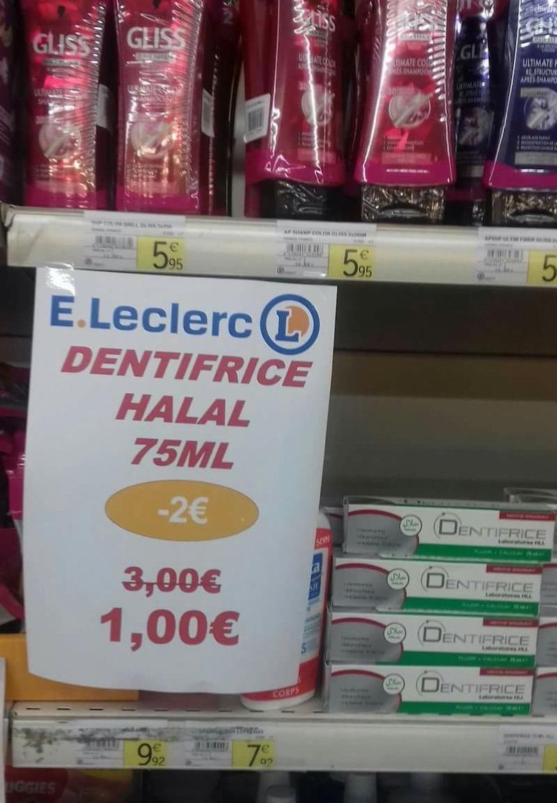 Edouard Leclerc Présente Son Nouveau Dentifrice Halal