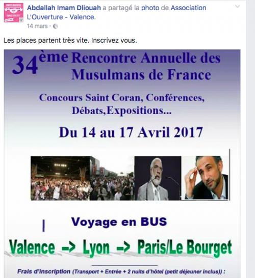 bourget rencontre musulmans france 2011