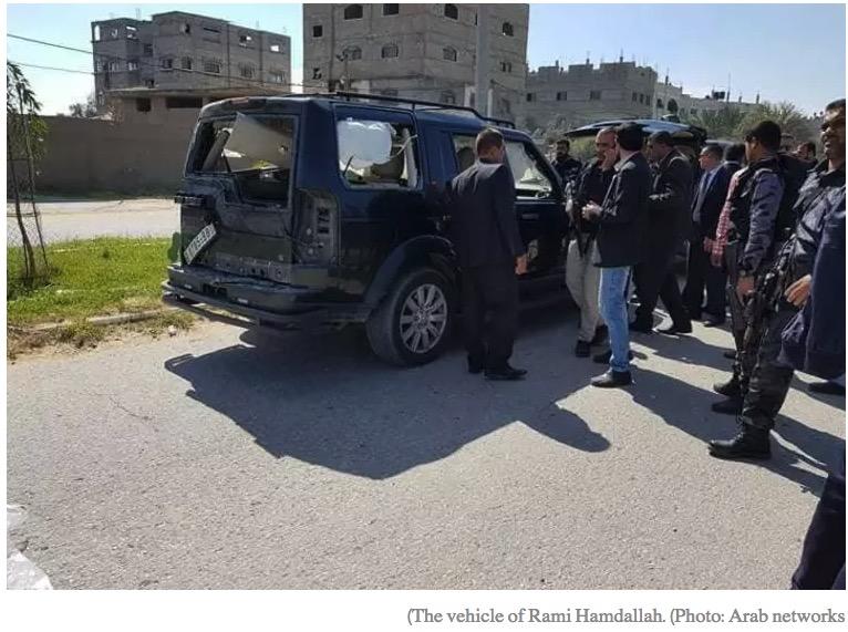 A Gaza, la réconciliation entre les Palestiniens avance bien : le Hamas a tenté d'assassiner le Premier ministre du Fatah rival