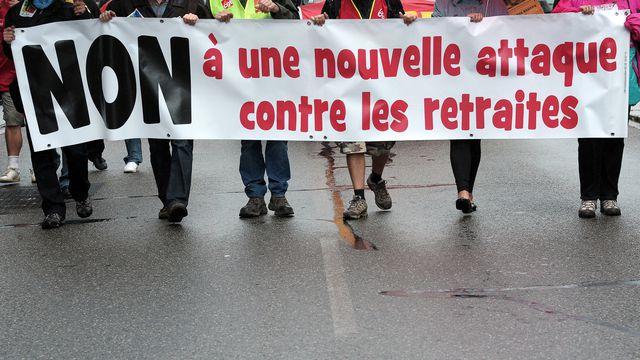 La CFDT Retraités Manche appelle ses troupes à manifester jeudi 4 octobre 2018 à Caen (Calvados), dans le cadre d'une mobilisation nationale pour dénoncer la baisse du pouvoir d'achat des retraités.