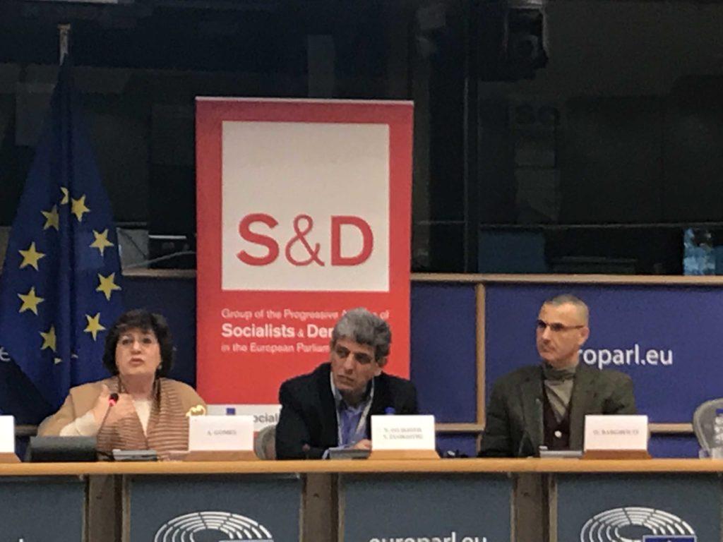 70 ans après l'Holocauste, une député – évidemment elle est socialiste – tient des propos antisémites au Parlement européen ana-gomesbarghouti-1024x768