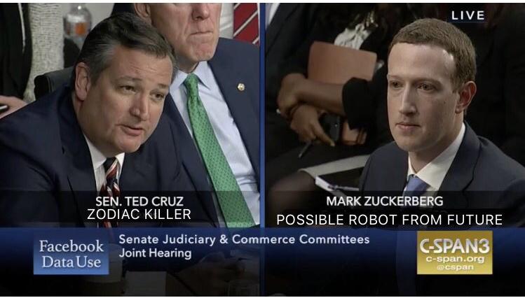 Ted Cruz grille Zuckerberg sur la censure de Facebook : «Qui modère vos modérateurs ?»