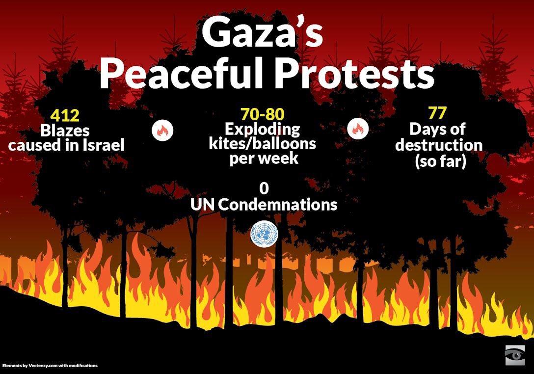 """Résultat de recherche d'images pour """"les ballons palestiniens"""""""