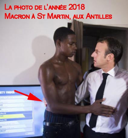 J'aurais honte d'être un Français Macron-aux-Antiless