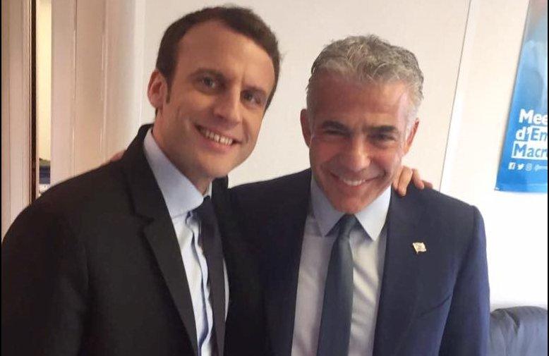 Macron Lapid