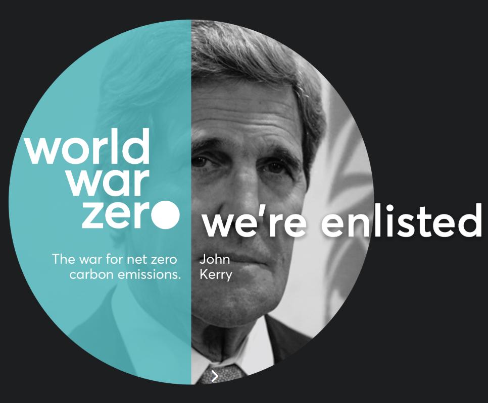 John Kerry lance une «guerre totale» contre le réchauffement climatique